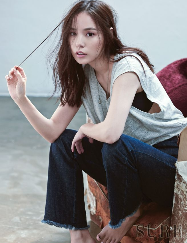 Min Hyo Rin Sure October 2014 Look 5