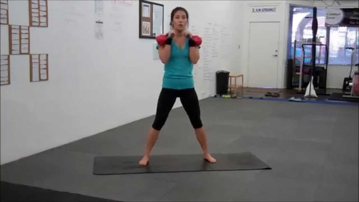 This is a basic kettlebell work out that targets every part of your body and is equal parts strength and cardio. You can follow along as you watch. Its chall...
