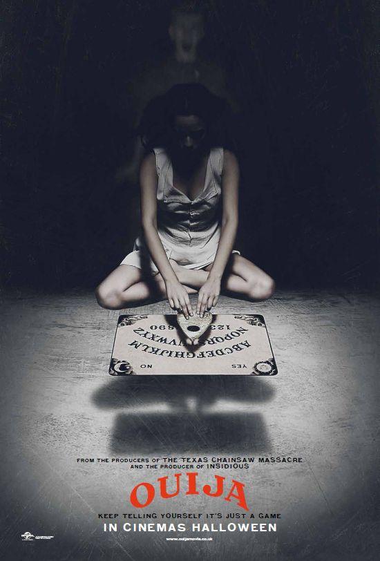 Alors que Debbie meurt mystérieusement dans sa maison, cinq amis utilisent la planchette ouija pour la contacter. Seulement, ce n'est pas le bon esprit qu'ils contactent et ils seront tous confrontés à des événements terrifiants. J'aime Bien Ce film car cela parle du jeu qui se nomme la ouija si ont y joue seul ont peut en mourir tandis qu'a plusieurs rien a craindre .