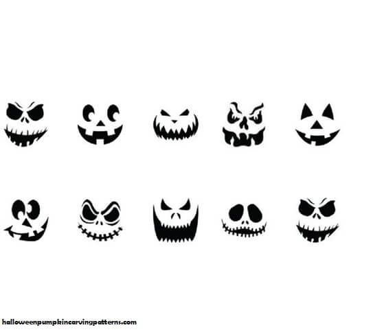 # Top 100+ Jack o Lantern Faces Patterns Stencils Ideas