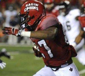 College Football Betting: Louisiana-Lafayette Ragin
