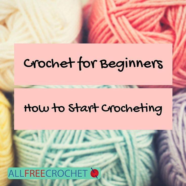 Crochet for Beginners: How to Start Crocheting | http://AllFreeCrochet.com