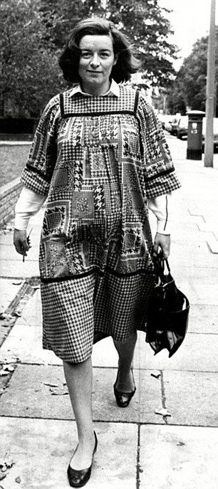 Sara Keays, former secretary and mistress of Cecil Parkinson, had a 12-year affair with the minister only exposed when she fell pregnant in 1983 (pictured)