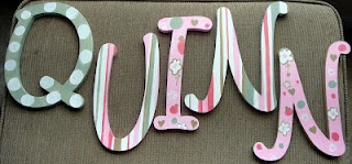 Baby Name Letters for the Nursery
