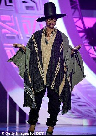 Erykah Badu Soul Train Awards 1