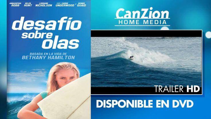 Trailer ~ Desafío sobre las olas Basada en la historia real de  Bethany Hamilton. Su testimonio nos enseña a no darnos por vencidos ante la adversidad.