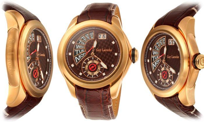 Nice...Guy Laroche Men's Watches. $159.00 Groupon