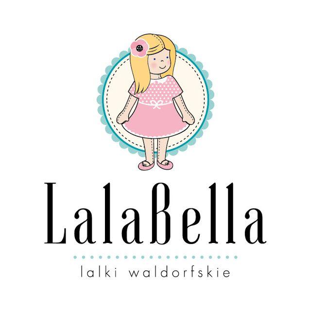 Lalki waldorfskie - LalaBella: Nowe logo