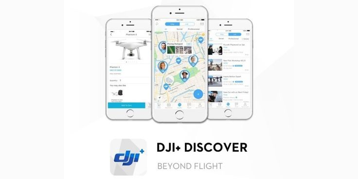 DJIs new app helps drone pilots meet up  and even tells them where to go flying