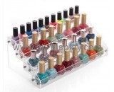 Wholesale acrylic table display stands beauty product display stand display nail polish CO-136