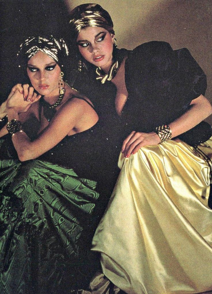 """✰YSL 'Ballets Russes' collection (1976) _ Photo by Guy Bourdin✰ """"I don't know if it was my best collection, but it was certai..."""