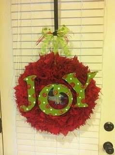 @Falyn VinsonJoy Christmas Wreath-Fundraiser to bring home a little one from Ethiopia. Check out the website: http://onelessdesigns.blogspot.com many more designs, ornaments too!