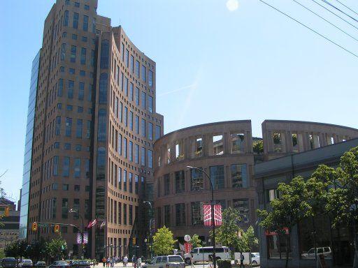 Main Library - Vancouver BC Canada Architecht Moshe Safdi