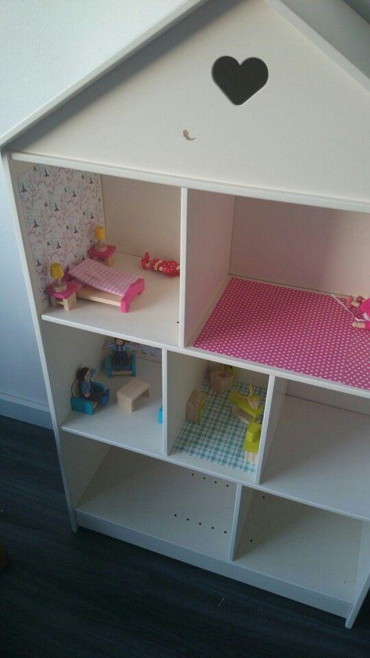 poppenhuis kast my life pinterest nursery