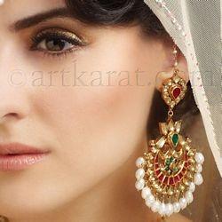 Bridal jewellery EARRING
