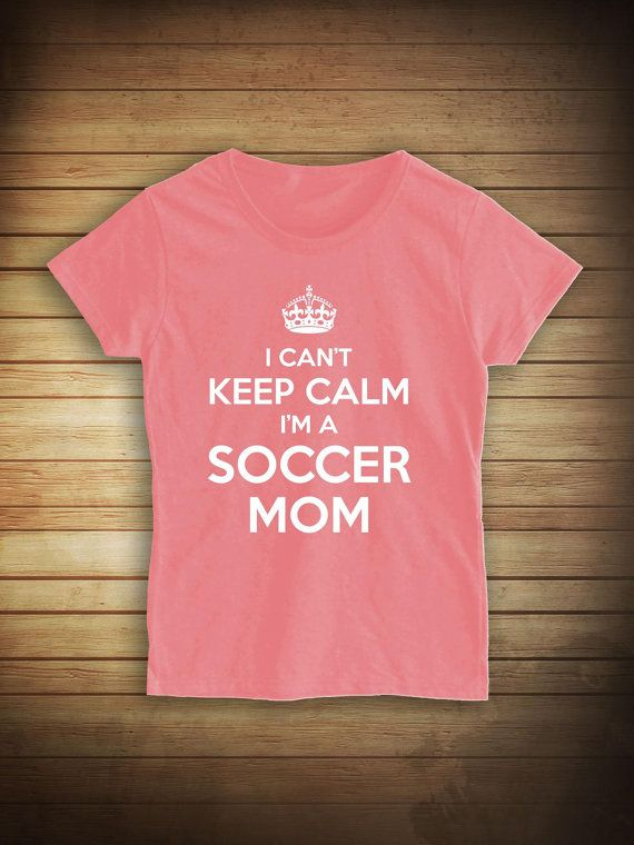 I Can't Keep Calm I'm A Soccer Mom Shirt kids by UncensoredShirts