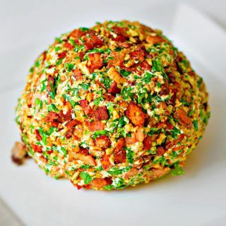 Mad Creations Maple Bacon Pecan Cheese Ball Dip