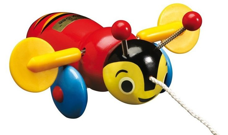 The Great New Zealand Toy Store   Pull Along Buzzy Bee , Baby Gifts