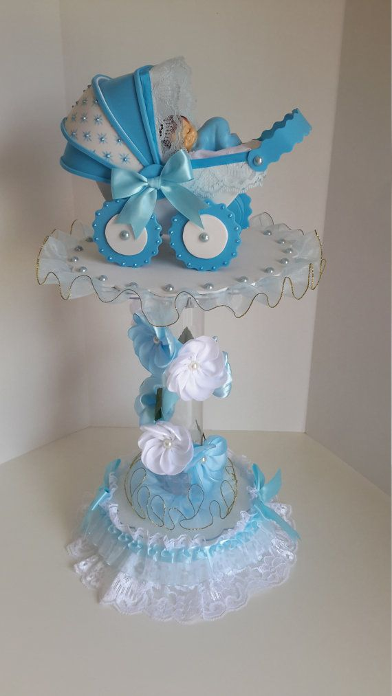 Best 25 centerpieces for baby shower ideas on pinterest - Mesa de baby shower nino ...