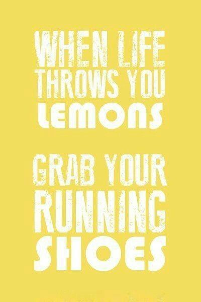 Grab your running shoes
