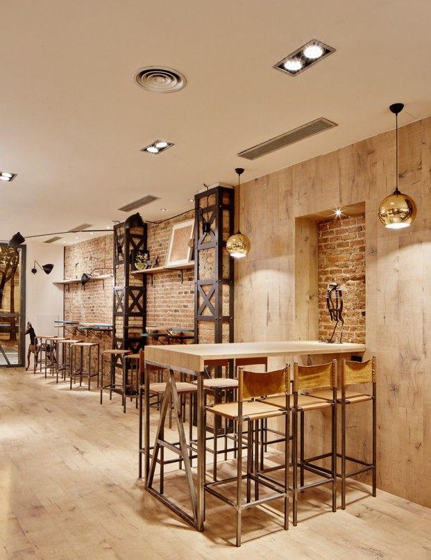 Las 25 mejores ideas sobre dise o de restaurante bar en - D fabrica interiorismo ...