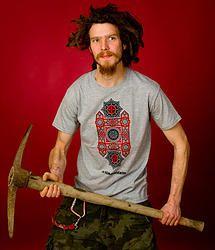 .Tahannun T-shirt, with Loopata Makay