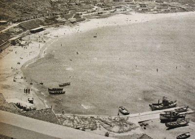 Sarıyer- Kilyos plajı (beach) 1959 Istanbul