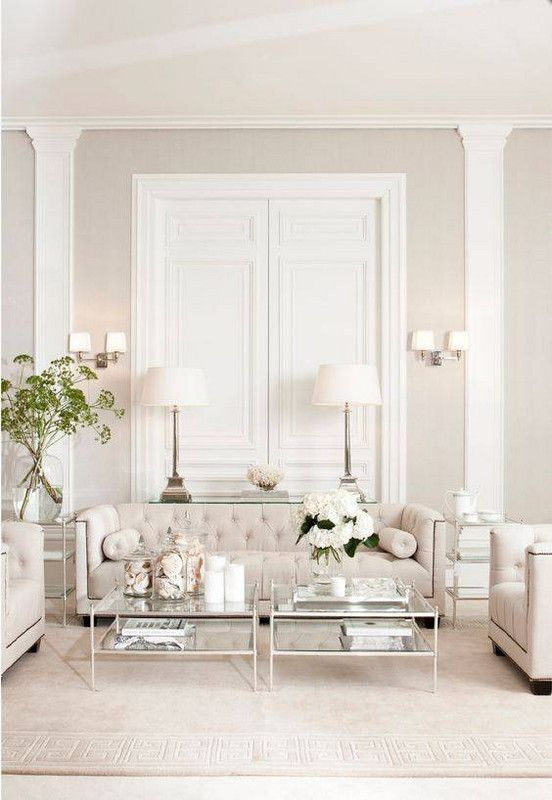 Best All White Room Ideas White Ivory Living Room