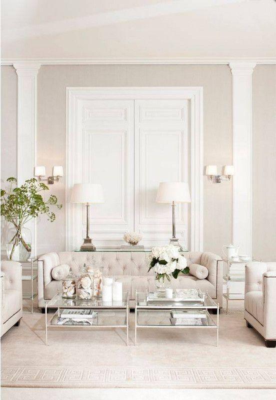 Best All White Room Ideas White Ivory Living Room