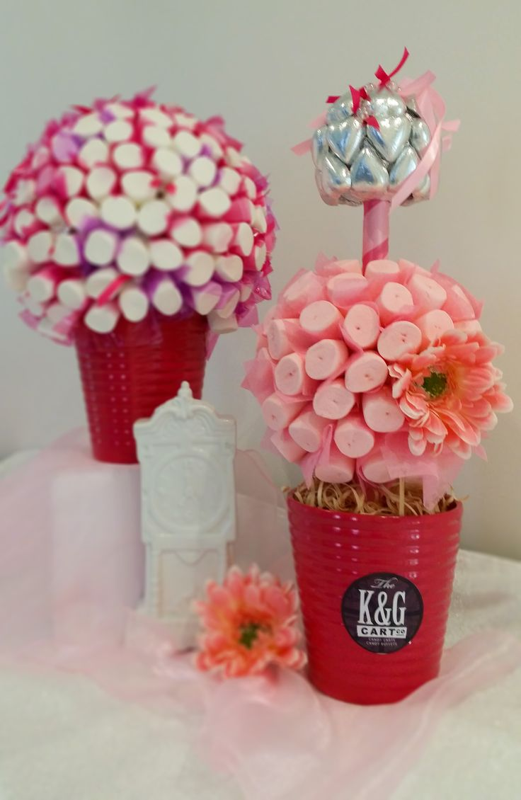 Pink Lolly trees