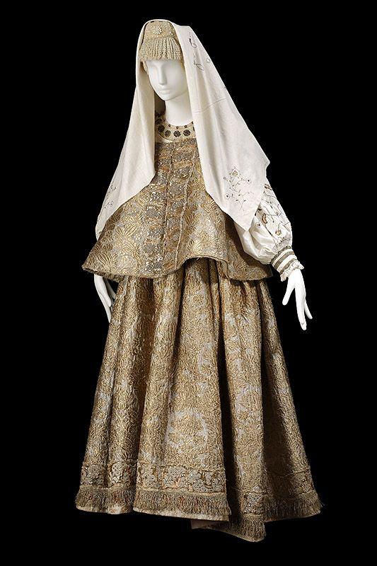 """le costume populaire russe"" Русский костюм XVIII-XIX вв. Русский север 19 век."