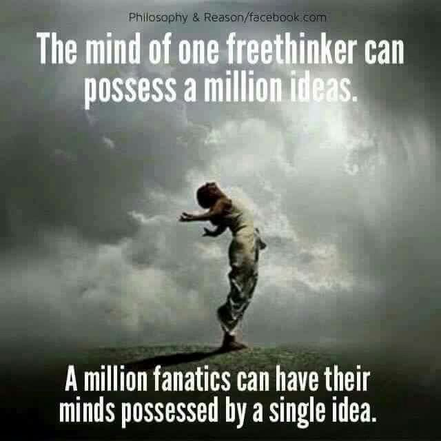 The mind of a freethinker