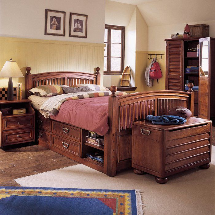 Stanley Furniture Captains Bed Twin Furniture Designs