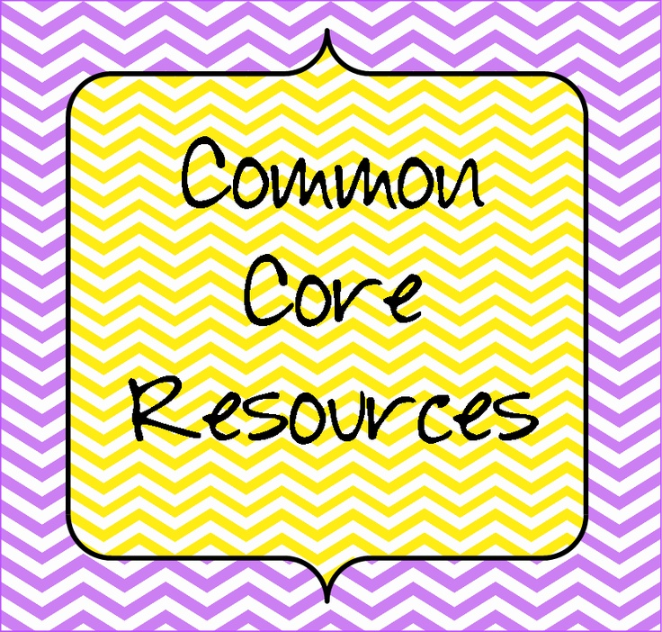 Common Core Resources to help you implement them in your classroom