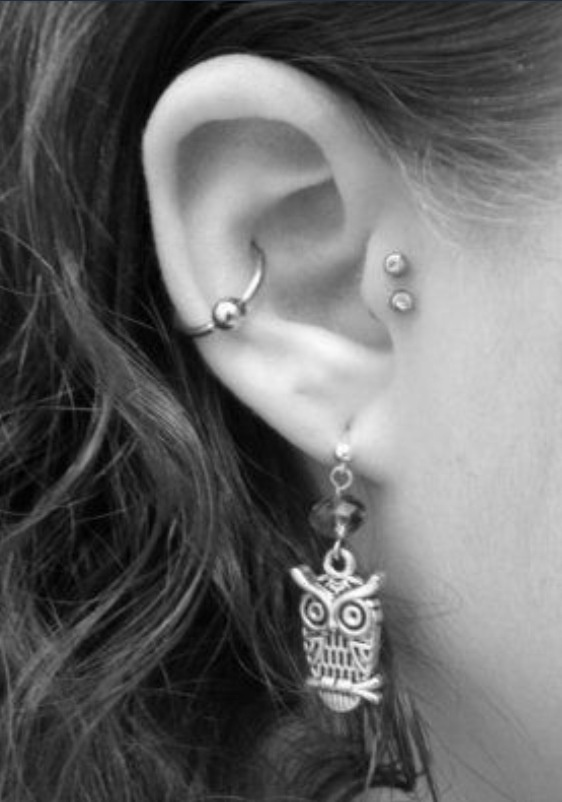 Contemplating wether I should get the Double Tragus.
