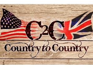 Country 2 Country, at the O2 Arena, March 16/17 2013. Tim McGraw, Vince Gill, Carrie Underwood & Liann Rimes etc.