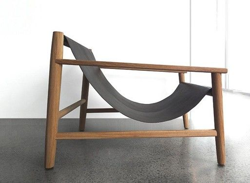 Modern sling chair. So beautiful.