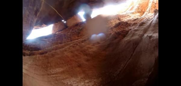 Man survives 90-foot into Arizona canyon without a scratch