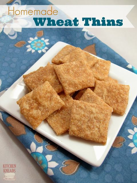 Homemade Wheat Thins (Spelt or Wheat flour): Recipe, Thin Spelt ...
