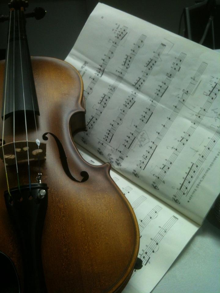 Violin - 시작한지 몇 개월이 지나기 전에, 악기를 잘못 택했다는 생각을 많이 했음. 한 음을 정확히 내는 것 조차도 너무 어렵고, 그 이상한 음을 계속 가장 가까이서 듣고 있어야 하는 나도 참 고생했다.    년수로는 거의 4년 정도 한거 같은데.. 레슨받은 건 그보다 훨씬 작긴 하지만..