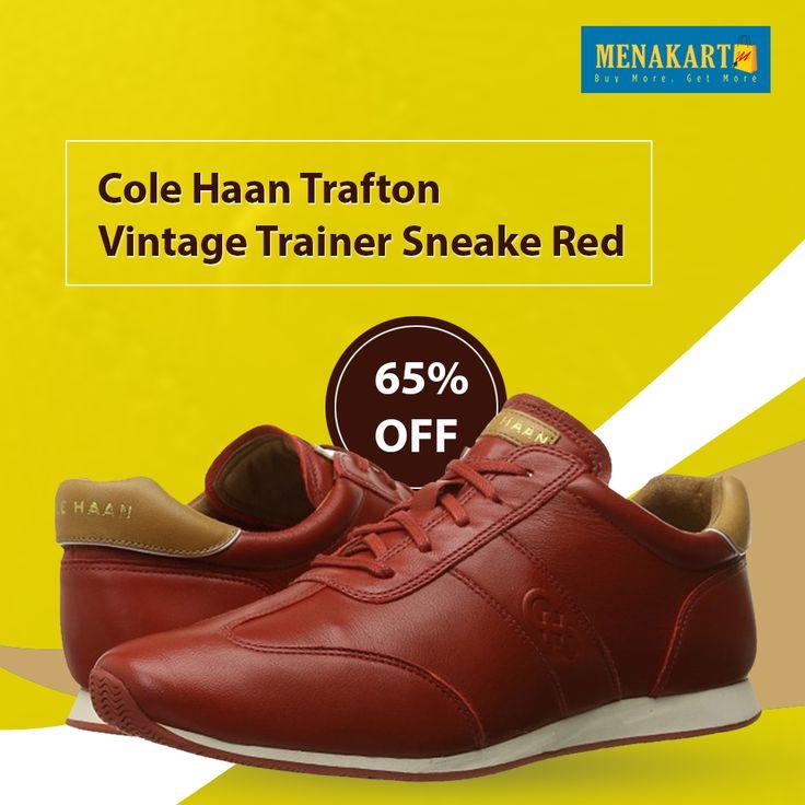 Cole Haan Trafton Vintage Trainer Sneake Red 8B