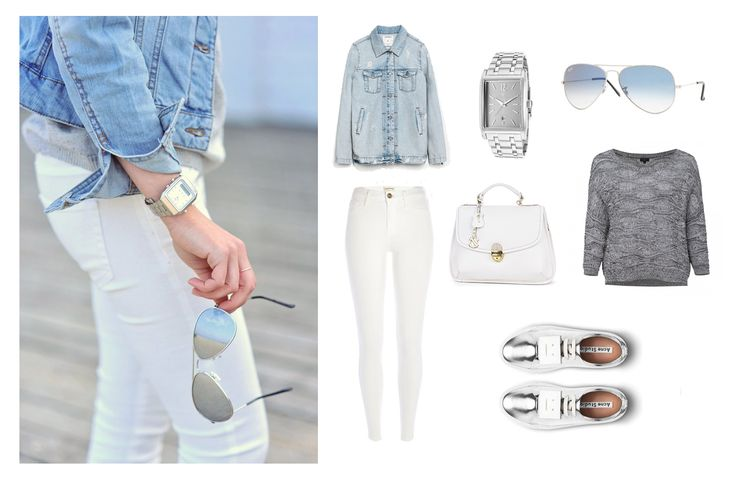 Becouse we need to look splendidly even off-duty! :)   Handbag - Clara-Veritas Shoes - Acne Studios Glasses - Ray-Ban Watch - Lucien Piccard Trousers - River Island Swearter - Solar  Denim Jacket - ZARA