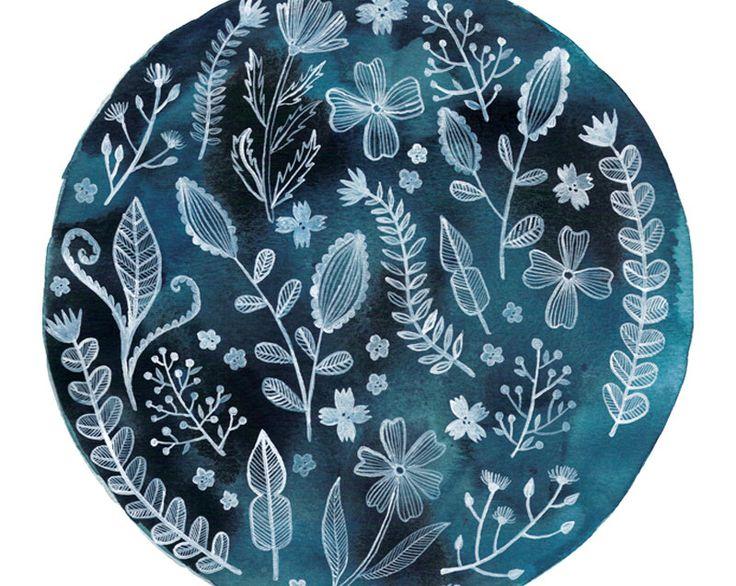 Blue Sphere Art Print 8x10 by AmeliaHerbertson on Etsy https://www.etsy.com/au/listing/162753667/blue-sphere-art-print-8x10