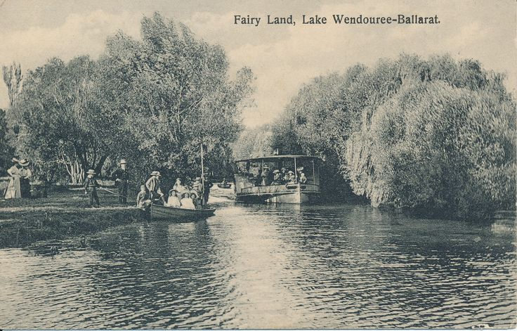 Lake Wendouree was home to several paddle steamers in the later part of the 1800s and well into the next century. Fairyland was a magic place of narrow waterways where the boats could meander through and passengers could feel they were miles from anywhere.