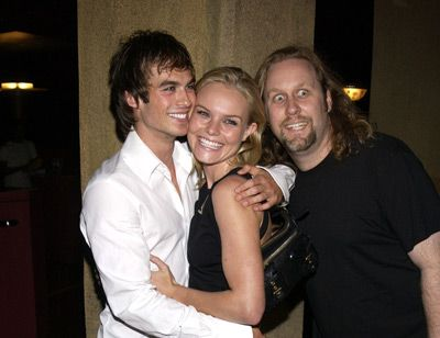 Roger Avary, Kate Bosworth, and Ian Somerhalder at The Rules of Attraction (2002) premiere