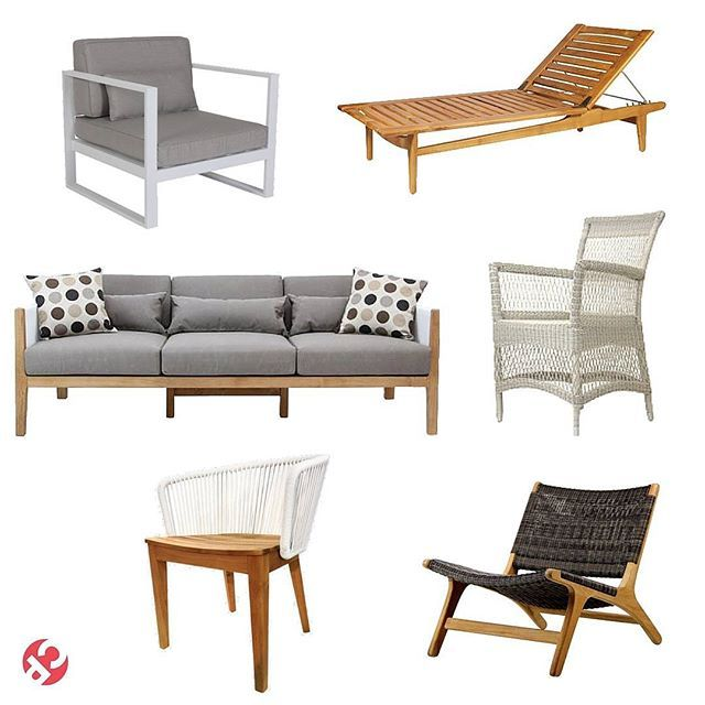 How you ask? With our beautiful outdoor furniture range of course!  On the left, Cancan Ali Sofa Chair, Scandic Sun Lounge, Bedarra Sofa, Babylon Arm Chair, Bedarra Dining Chair and the Bliss Chair.  Click the link in our profile to see more!  #cpadmoodbo