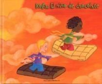 """""""Kofu, o neno de chocolate"""" - Autora: Ana García - Nova Galicia Edicions --- Luisiño fixo un novo amigo no cole,   llamabase Kofu, tiña a pel marrón e o pelo moi crecho. Oscompañeiros  crían que Kofu era raro e non querían nen hablar nen xogar con él."""