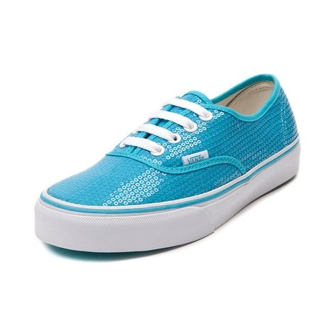 Shop for Vans Authentic Sequins Skate Shoe in Neon Blue at #0: 7a1ddb68e84dfc207afc640f3d d