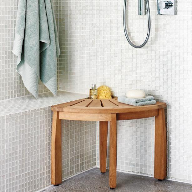 Best 25 Corner Shower Seat Ideas On Pinterest Corner