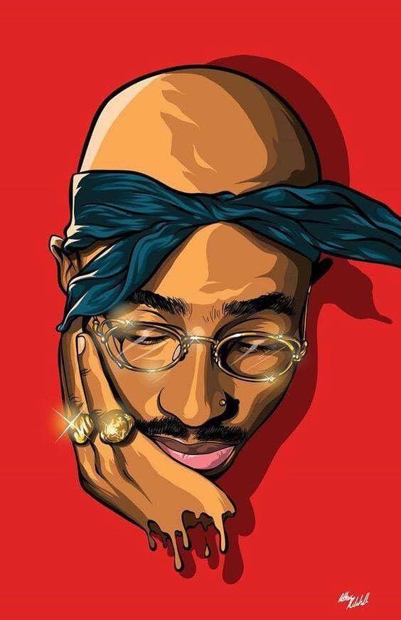 Tupac fotos de capa 50